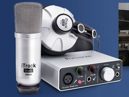 Picture of Focusrite iTrack Studio Interface Recording Package