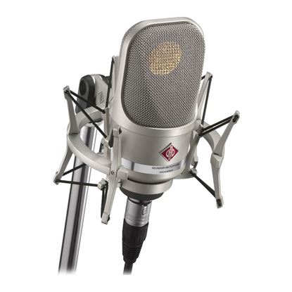 Neumann TLM107 Microphone (Nickel) with Complete Studio Set