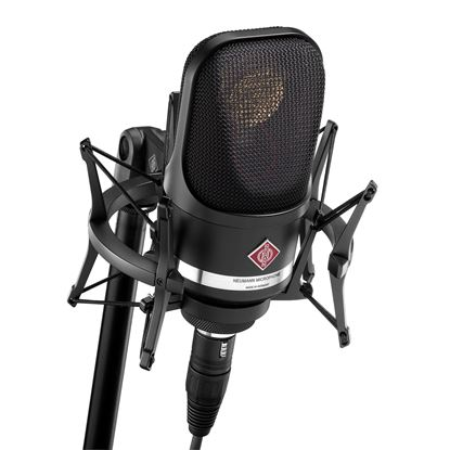 Neumann TLM107 Microphone (Black) with Complete Studio Set