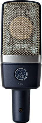Picture of AKG C214 Professional Large Diaphragm Condenser Microphone