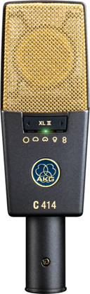 Picture of AKG C414 XLII Reference Multi-Pattern Condenser Microphone