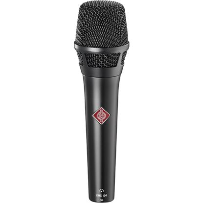 Picture of Neumann KMS104BK Hand-held Cardiod Condenser Microphone