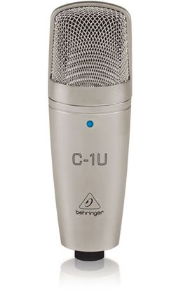 Picture of Behringer C1U USB Studio Condenser Microphone (Incl. Recording Software)