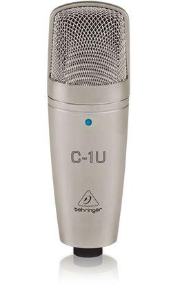 Behringer C1U USB Studio Condenser Microphone (Incl. Recording Software)