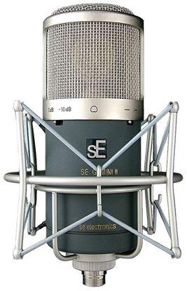 Picture of sE Electronics Gemini II Large Diaphram Dual Tube Cardiod Condenser Microphone