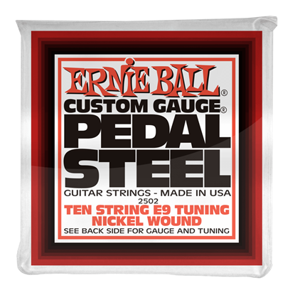 Ernie Ball E2502 10-String E9 Pedal Steel Strings