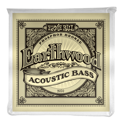 Ernie Ball E2070 Earthwood Acoustic Bass Guitar Strings