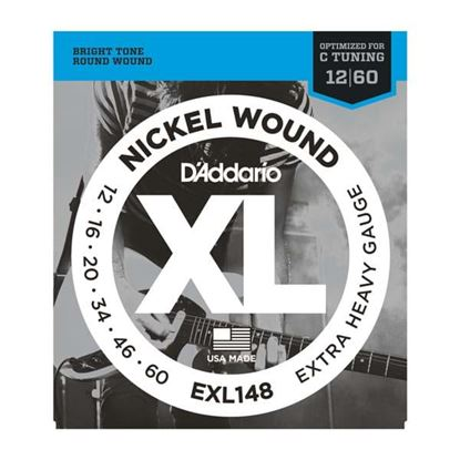 D'Addario EXL148 Electric Guitar Strings 12-60 Extra Heavy