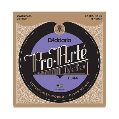 D'Addario EJ44 Pro-Arté Nylon Classical Guitar Strings, Extra Hard Tension