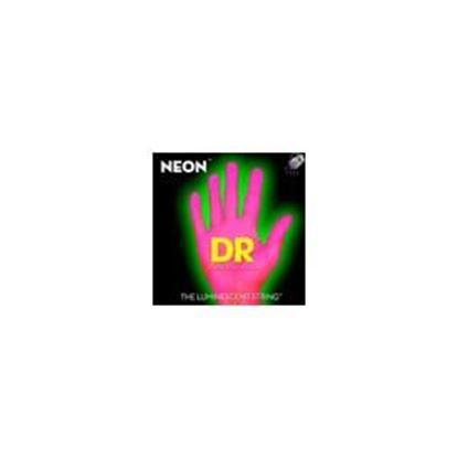 Picture of DR Strings NEON Hi-Def Pink Electric Guitar Strings 10-46