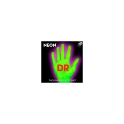 DR Neon NGB5-45 Green Bass Guitar Strings 5 String  45-125