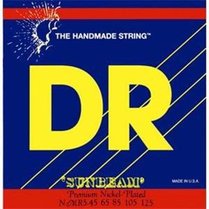 DR Strings Sunbeams NMR5-130 Medium 5-String Bass Strings 45-130 Low B