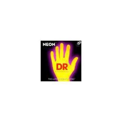DR Strings NEON Hi-Def Yellow Bass SuperStrings Medium 4-String