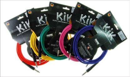 Klotz KIK Guitar Cable 6m - Blue/Nickel Connectors