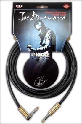 Klotz Joe Bonamassa Guitar Patch Cable 0.15m - Angle to Angle
