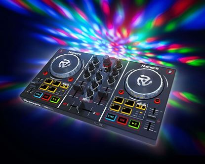 Picture of Numark Party Mix DJ Decks with Light Show