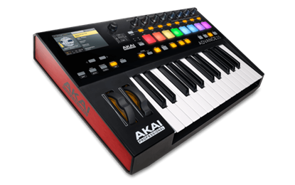 Akai Advance 25 Hi-Res Display Keyboard Controller (25 Keys)
