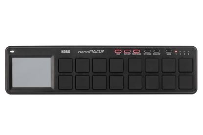 Picture of Korg nanoPAD2 Slim-line USB Controller (Black)