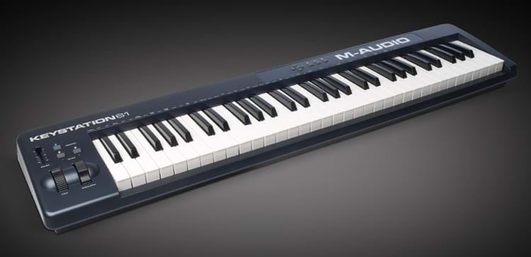 m audio keystation 61 ii 61 key midi controller perth mega music online. Black Bedroom Furniture Sets. Home Design Ideas