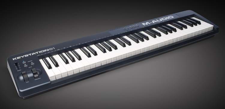 M-Audio Keystation 61 II - 61 Key MIDI Controller