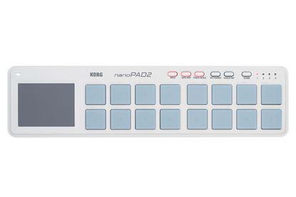 Picture of Korg nanoPAD2 Slim-line USB Controller (White)
