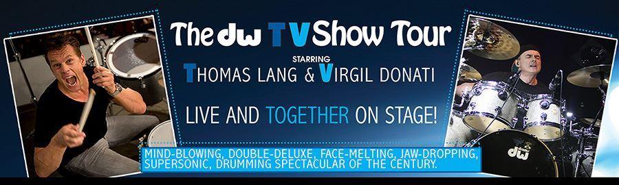 DW TV Show - Thomas Lang & Virgil Donati Tour