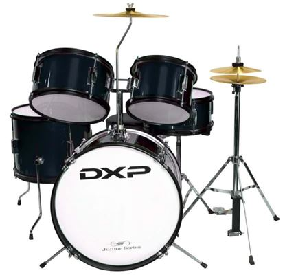 DXP Junior Series 5-piece Drum Kit - Black (TXJ5BK)