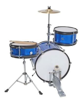 DXP Junior Series 3-piece Drum Kit - Metallic Blue (TXJ3MBL)