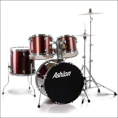 Picture of Ashton JoeyDrums Drum Kit - Wine Red