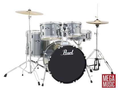 Picture of Pearl Roadshow 20 inch Fusion Drum Kit in Charcoal Metallic