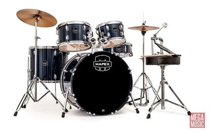 Mapex Prodigy 5-piece Drum Kit Package - Royal Blue