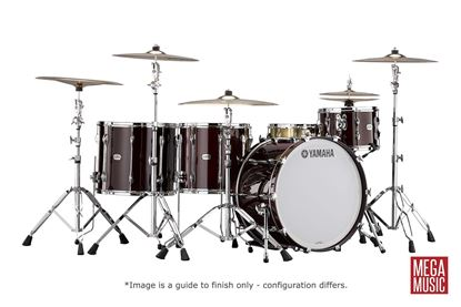 Yamaha Recording Custom Euro Drum Kit Shell Pack in Classic Walnut Lacquer