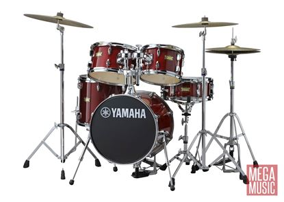Yamaha Manu Katche Junior Drum Kit in Cranberry Red Lacquer