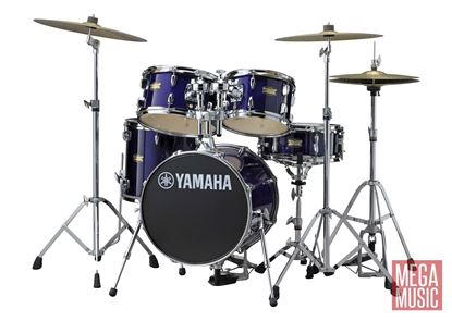 Yamaha Manu Katche Junior Drum Kit in Deep Violet Lacquer