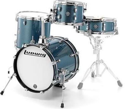 Ludwig Breakbeats Drum Kit - Azure Blue