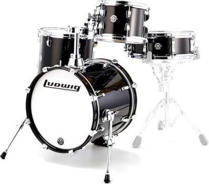 Ludwig Breakbeats Drum Kit Shell Pack - Black Sparkle