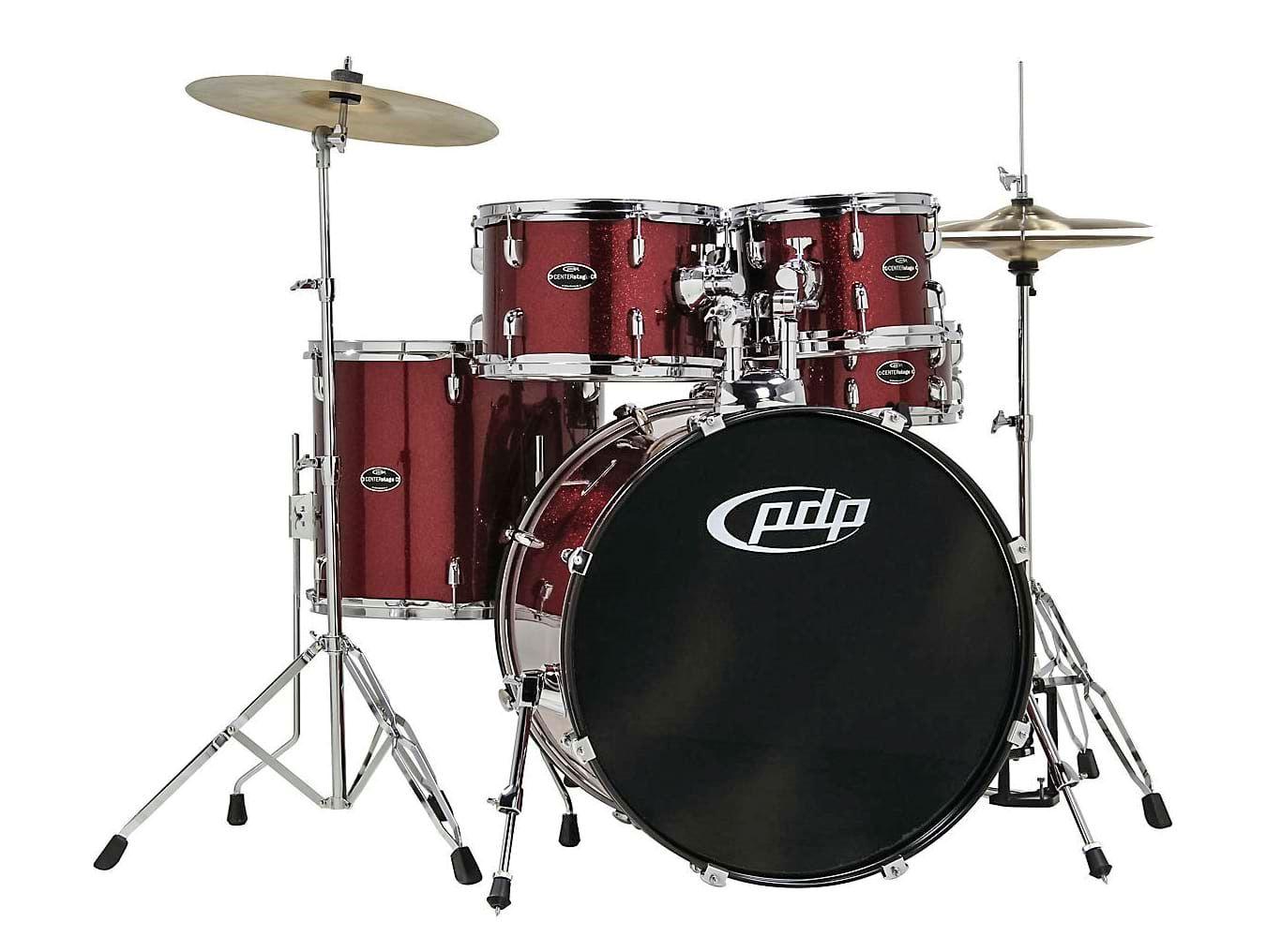 pdp centerstage 5 piece drum kit ruby perth mega music online. Black Bedroom Furniture Sets. Home Design Ideas