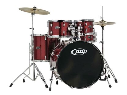 PDP CENTERstage 5-piece Drum Kit Ruby