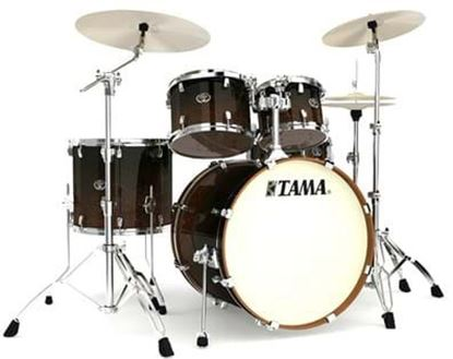 Tama VP52KRS Silverstar Drum Kit Dark Mocha Fade