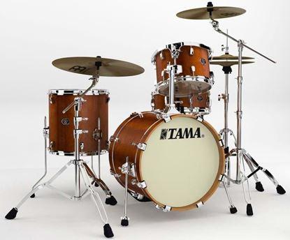 Tama VP48S Silverstar Drumkit Antique Brown Birch