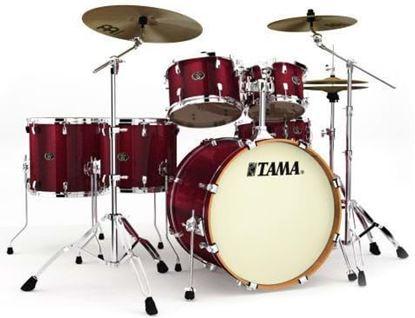 Tama VD62RS Silverstar Drum Kit Vintage Burgundy Sparkle