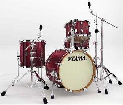 Tama VD48S Silverstar Drum Kit Vintage Burgundy Sparkle