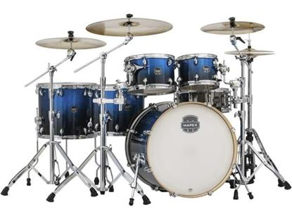 Mapex Armory 6pc Shell Pack Fast Photon Blue w 22inch Kick