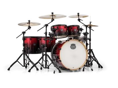 Mapex Armory 6pc Shell Pack Magma Red w 22inch Kick