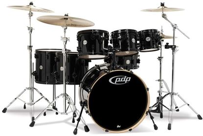 Picture of DW Concept Series 7-piece Maple Drum Kit - Pearlescent Black