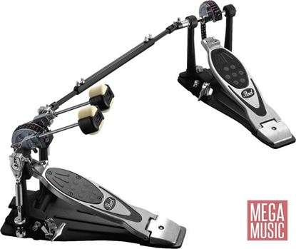 Pearl P-2002CL Powershifter Eliminator Double Bass Drum Pedal Left Footed