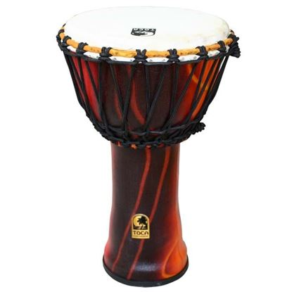 Toca Djembe Freestyle 9 inch Rope-tuned - Fiesta Finish