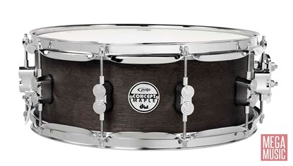 PDP Concept Series 13x5.5 inch All-Maple Black Wax Snare Drum