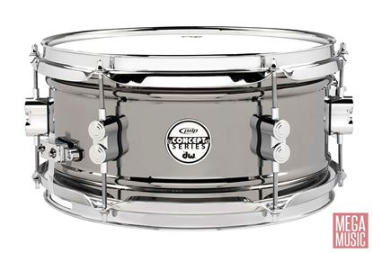PDP Concept Series 12x6 inch Black Nickel over Steel Snare Drum