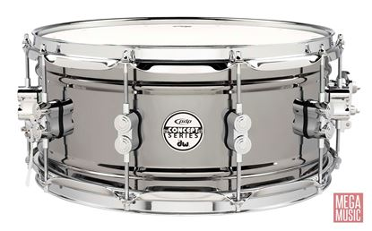 PDP Concept Series 14x6.5 inch Black Nickel over Steel Snare Drum